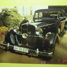 Postales: 1324 CAR COCHE WAGEN AUTO VOITURE MAYBACH 1937 MAS POSTALES DE ESTE TEMA EN COSAS&CURIOSAS. Lote 5733631