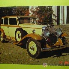 Postales: 1325 CAR COCHE WAGEN AUTO VOITURE CADILLAC 452 MAS POSTALES DE ESTE TEMA EN COSAS&CURIOSAS. Lote 5733632