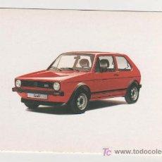 Postales: (ALB-TC-15) CURIOSA POSTAL COCHE GOLF 1974 1982. Lote 7231666