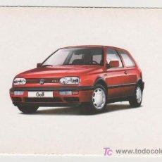 Postales: (ALB-TC-15) CURIOSA POSTAL COCHE GOLF 1991 1996. Lote 7231680