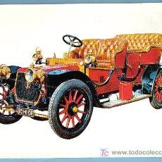 Postales: COCHE ANTIGUO. PANHARD & LEVASSOR 15 HP TIPO X 4 CILINDROS (1907) . 21 X 15,5 CM. Lote 10530510