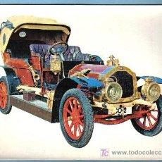 Postales: COCHE ANTIGUO. DE DION BOUTON 30 HP TIPO AY 4 CILINDROS (1907) . 21 X 15,5 CM. Lote 10530531