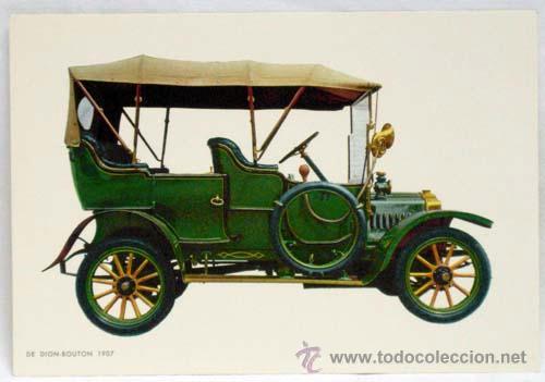 POSTAL COCHE DION BOUTON 1907 ED CYZ ED C Y Z AÑOS 70 (Postales - Postales Temáticas - Coches y Automóviles)