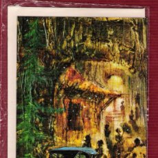 Postales: MAGNÍFICO DÍPTICO AÑO 1972 - PINTURA - COCHE ANTIGUO - SOBRE ORIGINAL INCLUIDO. Lote 12787965