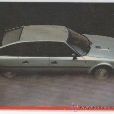 Postales: TARJETA POSTAL DE CITRÖEN CX GTI TURBO COLECCIÓN 1985 COCHE AUTOMOVIL. Lote 14095951
