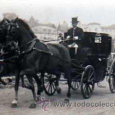 Postales: POSTAL FOTOGRAFICA COCHE DE CABALLOS . Lote 16080761