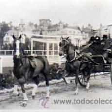 Postales: POSTAL FOTOGRAFICA COCHE DE CABALLOS . Lote 16080776
