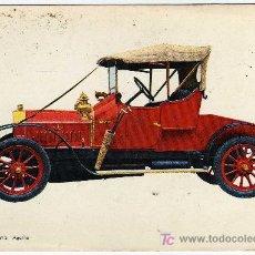 Postales: BONITA POSTAL - COCHE DE EPOCA - LA LICORNE 1912 - AGATHE-. Lote 17366872