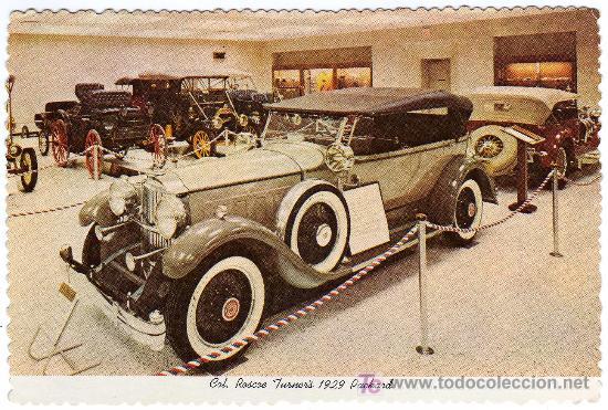 MAGNIFICA POSTAL - COCHE DE EPOCA - COL. ROSCOE TURNER´S 1929 PACKARD (Postales - Postales Temáticas - Coches y Automóviles)