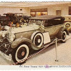 Postales: MAGNIFICA POSTAL - COCHE DE EPOCA - COL. ROSCOE TURNER´S 1929 PACKARD. Lote 18967405