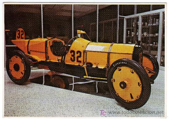 MAGNIFICA POSTAL - COCHE DE CARRERAS - INDIANAPOLIS 30-MAYO-1911 (Postales - Postales Temáticas - Coches y Automóviles)