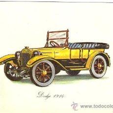 Postales: -21817 ¡¡ POSTAL COCHE DODGE 1914, SIN CIRCULAR, ADHESIVE, NUEVA POSTAL, S.A. !!. Lote 21555000