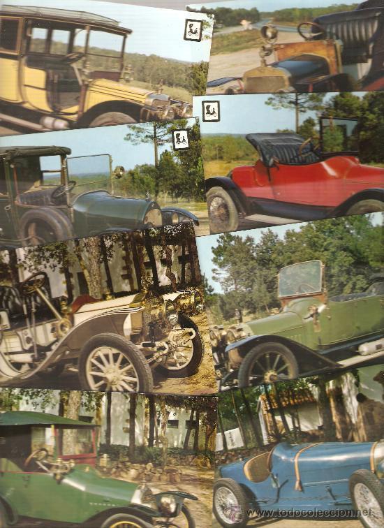 20 POSTALES: COCHES DE EPOCA (Postales - Postales Temáticas - Coches y Automóviles)