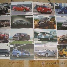Postales: LOTE DE 16 POSTALES DE COCHES. VOLKSWAGEN. PASSAT, JETTA, GOLF, POLO, BEETLE. 333. . Lote 24001932