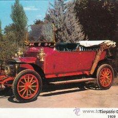 Postales: TORPEDO DELAHAYE DEL AÑO 1909, POSTAL FRANCESA. Lote 26566468