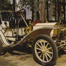Postales: DE DION BOUTON 14 HP DEL AÑO 1909, POSTAL ESPAÑOLA. Lote 26566505