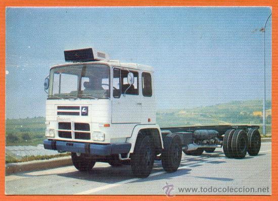 CAMION PEGASO 1086 / 52 260 CV. CARGA GENERAL - EDITORIAL FENICIA AÑO 1974 (Postales - Postales Temáticas - Coches y Automóviles)