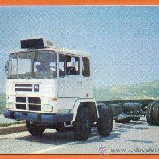Postales: CAMION PEGASO 1086 / 52 260 CV. CARGA GENERAL - EDITORIAL FENICIA AÑO 1974. Lote 27211781