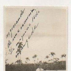 Postales: CUBA. AUTOMOVIL, COCHE. REGRESANDO DE UNA EXCURSION, MAQUINA ENFANGADA. (FOTOGRAFICA) . Lote 27650160