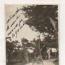 Postales: CUBA. AUTOMOVIL, COCHE. SALIENDO DE UNA CURVA PELIGROSA. (FOTOGRAFICA) . Lote 27650175