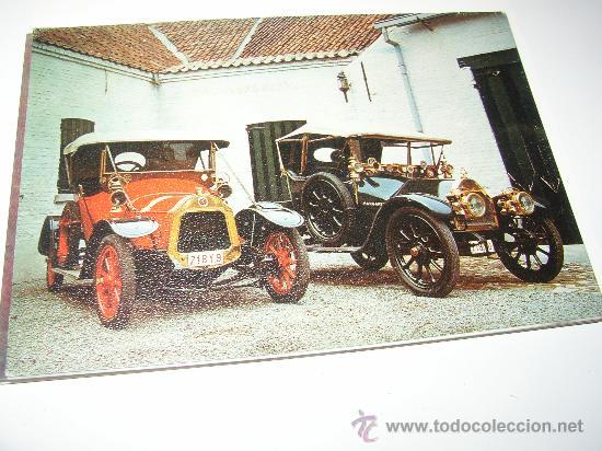 COHES, LA LICORNE 1912 Y BELCISE 1912 (Postales - Postales Temáticas - Coches y Automóviles)