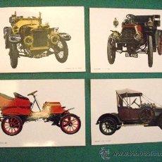 Postales: A-024 LOTE DE 22 POSTALES DE AUTOMOVILES DE EPOCA.- C Y Z .BARCELONA.. Lote 27896450