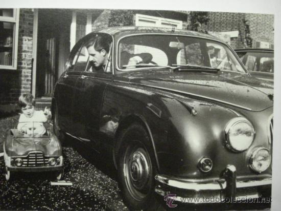 410 COMICA PRECIOSA POSTAL DE COCHE AUTO CAR - COPIA MODERNA DE FOTOS ANTIGUAS - AÑOS 1980-1998 (Postales - Postales Temáticas - Coches y Automóviles)