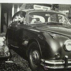 Postales: 410 COMICA PRECIOSA POSTAL DE COCHE AUTO CAR - COPIA MODERNA DE FOTOS ANTIGUAS - AÑOS 1980-1998. Lote 28356595