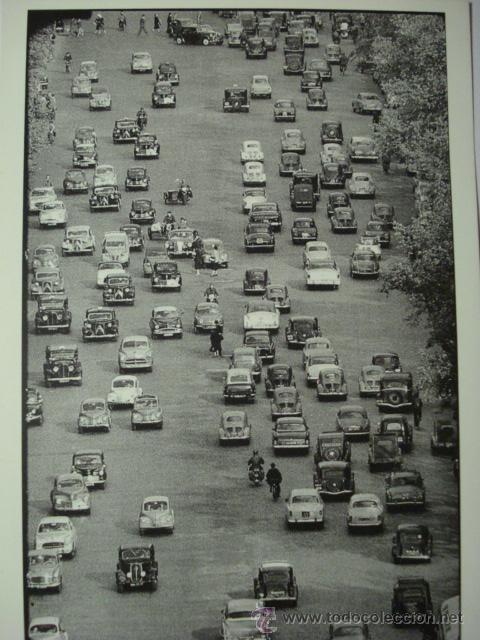 417 PARIS PRECIOSA POSTAL DE COCHE AUTO CAR - COPIA MODERNA DE FOTOS ANTIGUAS - AÑOS 1980-1998 (Postales - Postales Temáticas - Coches y Automóviles)