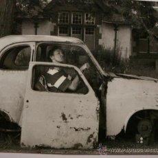 Postales: 420 COMICA PRECIOSA POSTAL DE COCHE AUTO CAR - COPIA MODERNA DE FOTOS ANTIGUAS - AÑOS 1980-1998. Lote 28356624