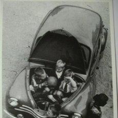 Postales: 421 COMICA PRECIOSA POSTAL DE COCHE AUTO CAR - COPIA MODERNA DE FOTOS ANTIGUAS - AÑOS 1980-1998. Lote 28356626