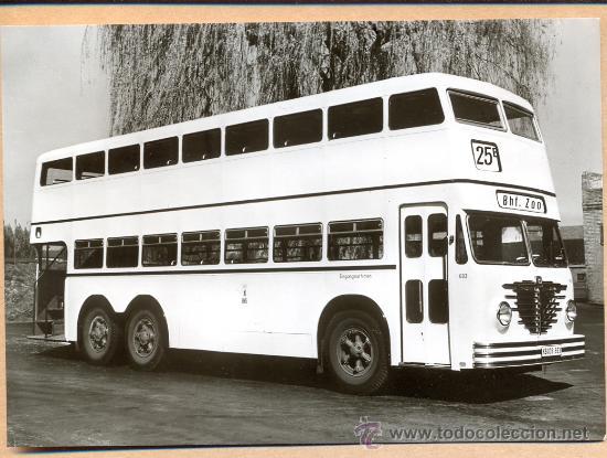 POST 583 - AUTOBUS SERIE 5 - BAUJAHR 1952 . BUSSING D (Postales - Postales Temáticas - Coches y Automóviles)