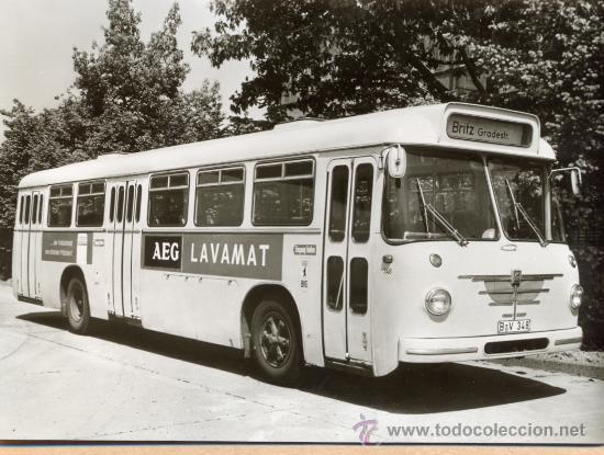 POST 584 - AUTOBUS SERIE 5 - PRASIDENT BAUJAHR 1963 (Postales - Postales Temáticas - Coches y Automóviles)