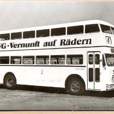 Postales: POST 587 - AUTOBUS SERIE 2 - BUSSING D 2 U BAUJAHR 1954. Lote 28544752