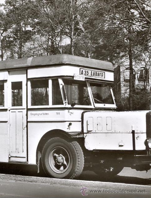 Postales: POST 588 - AUTOBUS SERIE 1 - BUSSING E 3 DIE BAUJAHR 1934 - Foto 2 - 28544996