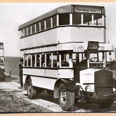 Postales: POST 590 - AUTOBUS SERIE 2 TYP NAG D 2 MAY BAUJAHR 1928. Lote 28545356