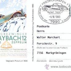Postales: POST 593 - FERIA MAYBACH 1 TIPE ZEPPELIN BERGBEZWINGER. Lote 28545703