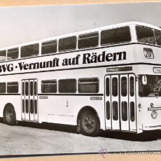 Postales: POST 594 - AUTOBUS SERIE 1 - BUSSING DE 65 BAUJAHR 1966. Lote 28545780