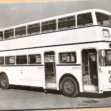 Postales: POST 595 - AUTOBUS SERIE 9 - DF BAUJAHR 1963 MOTOR U 7 , 150 PS - BUSSING. Lote 28545850