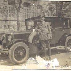 Postales: PS3233 POSTAL FOTOGRÁFICA DE AUTOMÓVIL Y CHÓFER. FOTO RÍOS. MADRID, 18 DE ABRIL DE 1926. Lote 29448744