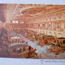 Postales: POSTAL; ASPECTO DEL MUSEO NACIONAL DE COCHES DE LISBOA, NO CIRCULADA. Lote 31193935