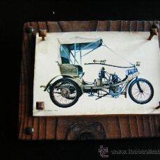 Postales: ANTIGUA POSTAL ENMARCADA EN ORIGINAL CUADRO CON CLAVOS DE LANEF LA CROIX 1900. RARO. SERIE LIMITADA.. Lote 31765707
