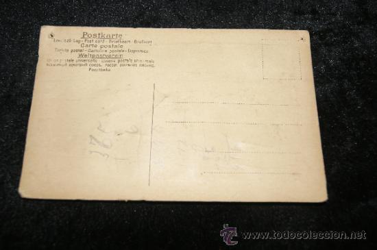Postales: Antigua postal troquelada con automovil metalico - Foto 3 - 34072471