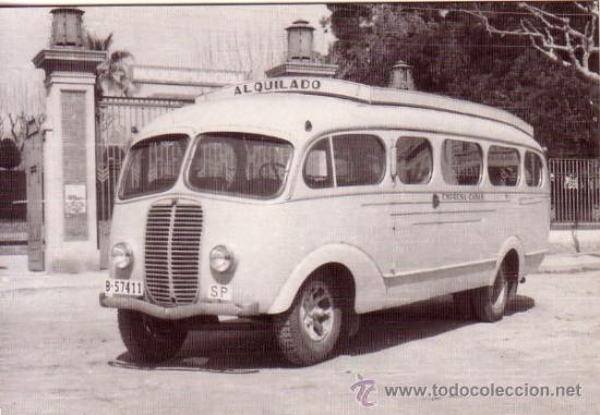 autobus empresa casas - linea mataro-llavaneras - comprar postales