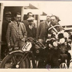 Postales: POSTAL CARRERA CIRCUITO LEVANTE 1929. Lote 34404161