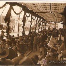 Postales: POSTAL FOTOGRAFICA CARRERA SIDECARS CIRCUITO LEVANTE 1925. Lote 34405389