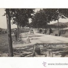 Postales: POSTAL FOTOGRAFICA COPA CATALUNYA. CARRERA DE COCHES. AUTOMOVILISMO. SIN CIRCULAR.. Lote 34670138