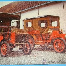 Postales: ANTIGUA POSTAL DE COCHES. COCHE MARTIN LE TIMONNIER 1904. DAIMLER PANHARD LEVASSOR 1897. 694. . Lote 35073596