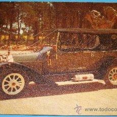Postales: ANTIGUA POSTAL DE COCHES. COCHE CLÁSICO PEUGEOT 1910. 702. . Lote 35073655
