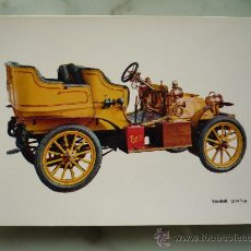 Postales: POSTAL COCHES ANTIGUOS MOD. C-3 / COCHE *VAUXHALL 1904* / CAJA PENSIONES VEJEZ / IMPECABLE. Lote 45858998